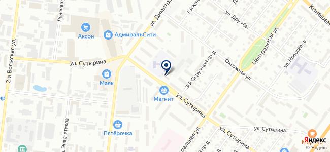 Кострома+ на карте