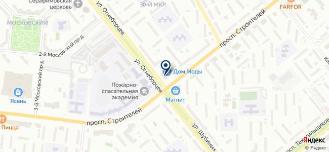 Универсал, магазин электротоваров на карте