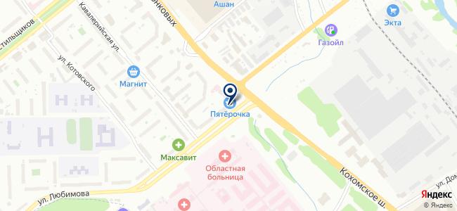 Ивстройцемкомплект, монтажная компания на карте