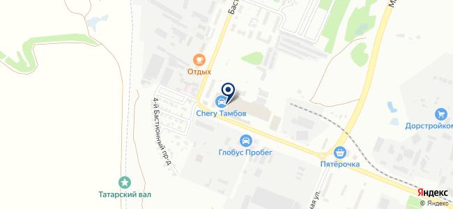 Электроверк на карте