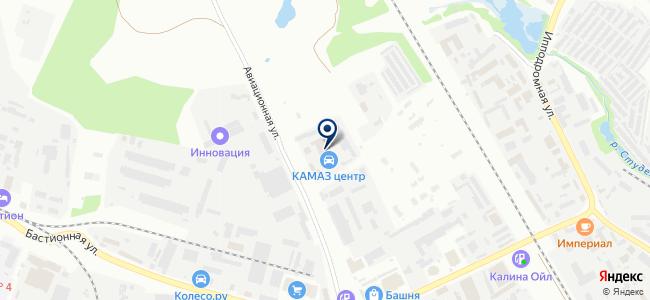 Тамбовский автоцентр Камаз, ООО на карте