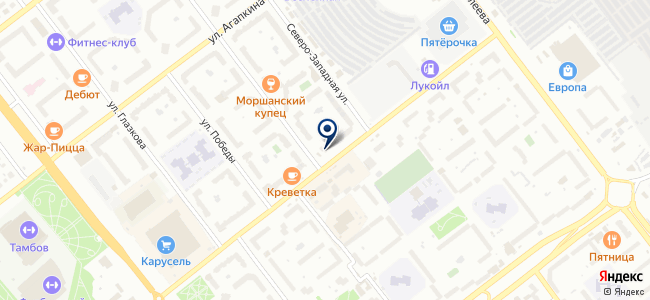 Магазин инструментов на Ореховой, 1 на карте