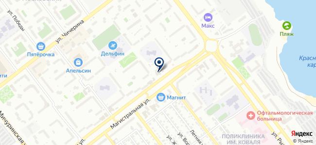Магазин сантехники и светотехники на карте