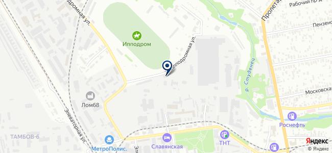 Газпроектмонтаж, ООО на карте