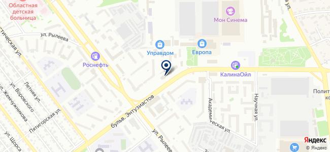 ТМК инструменты на карте