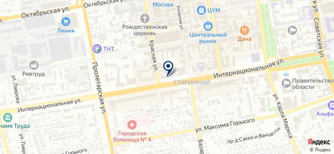 Магазин радиодеталей на карте