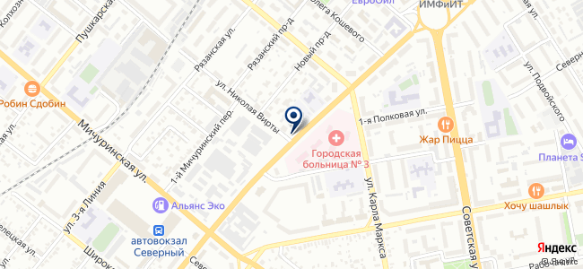 Бизнес Ком на карте