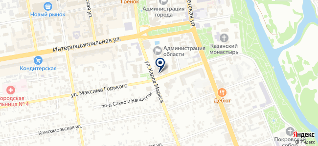ТамбовАртСтрой на карте