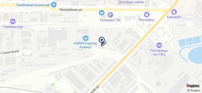 ТамбовТехСнаб, ООО на карте