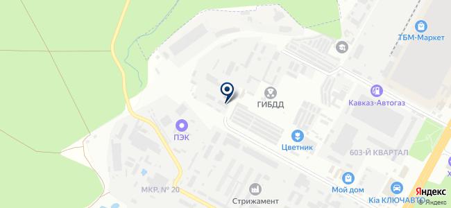 Ставропольский кабельный центр, ООО на карте