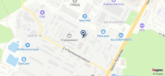 СК-АВТ инжиниринг, ООО на карте