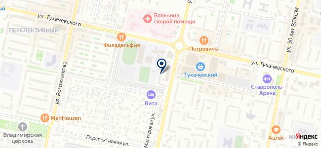 Ставсвет, ООО на карте