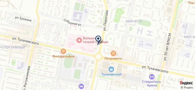 Виртуальный Торговый Центр на карте