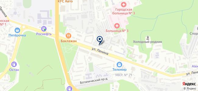 Кип-ЮГ на карте