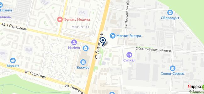 Телемаг на карте