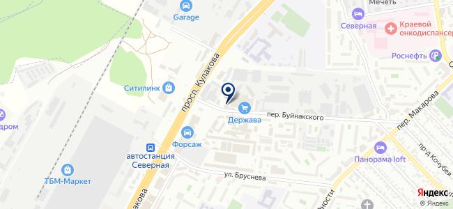 Светоконтраст на карте