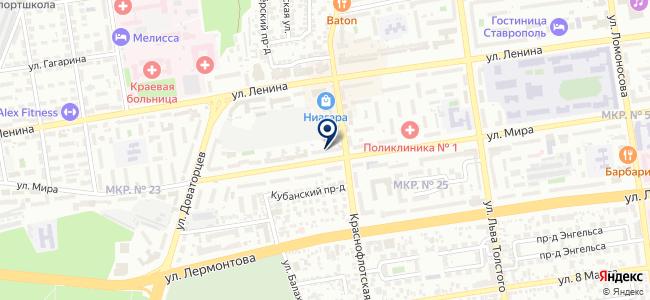 Клад на карте