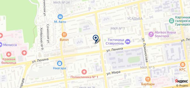 АСКОМ на карте