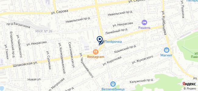 Ставропольская биржа спецтехники на карте