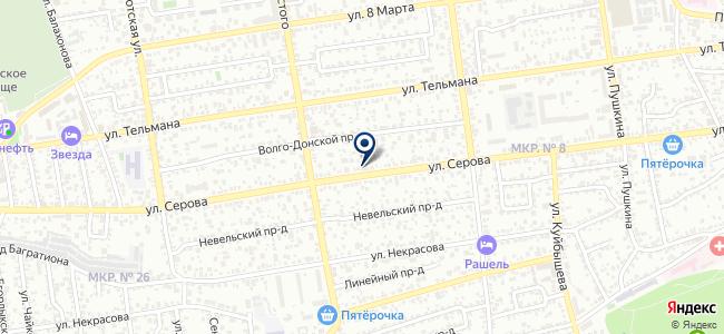 Макс Моторс, ООО на карте