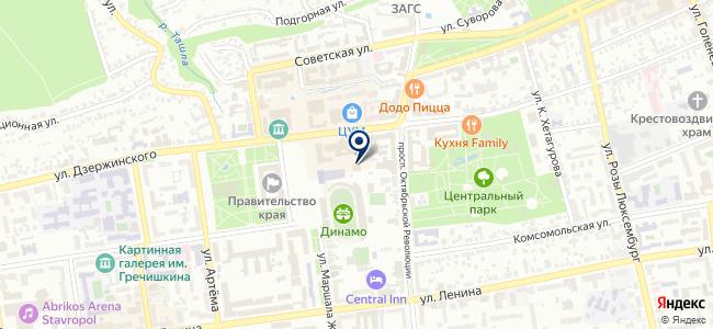 КавказТехСервис на карте
