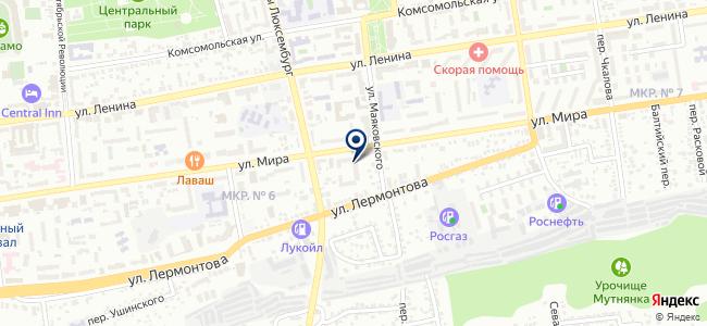 СТАВРОПОЛЬ-ВОСТОК-СЕРВИС, ЗАО на карте