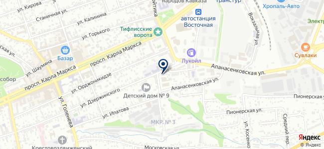 Дон-Вига на карте