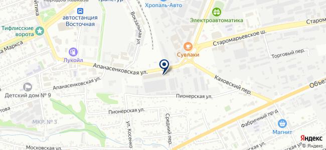 Энергомера, ОАО на карте