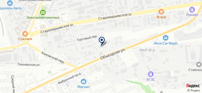Экопром, ООО на карте