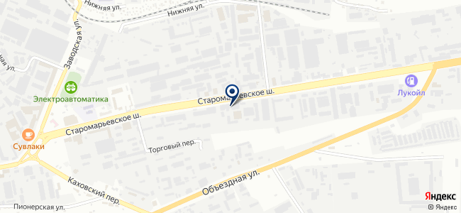 ИнструментСервис на карте