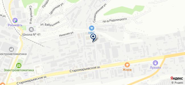 Бот, ООО на карте