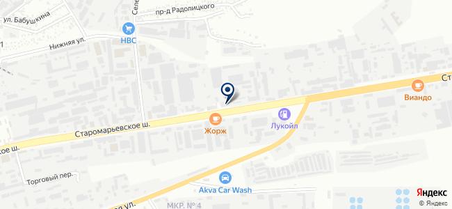 Южная кабельная компания на карте