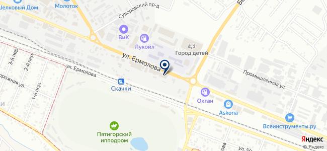 ТеплоГрупп на карте