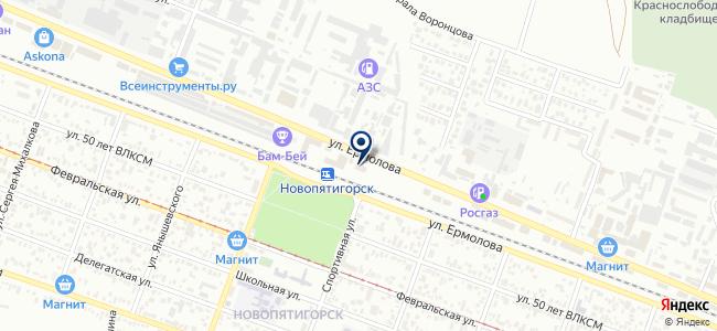 БронзаОпт на карте