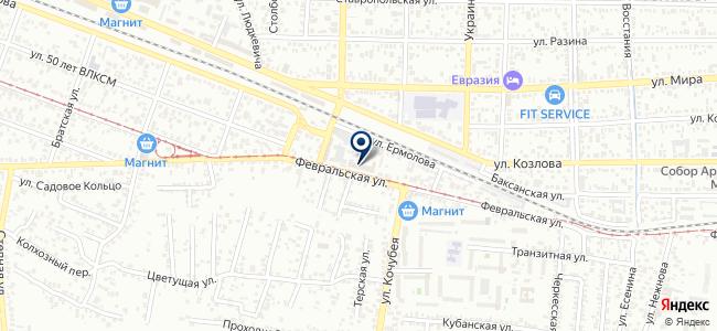 Салон обоев №1 DECOR HITS на карте