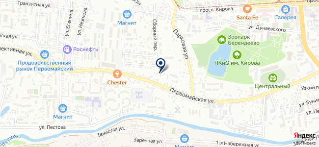 Пятигорскпассажиравтотранс, МУП на карте