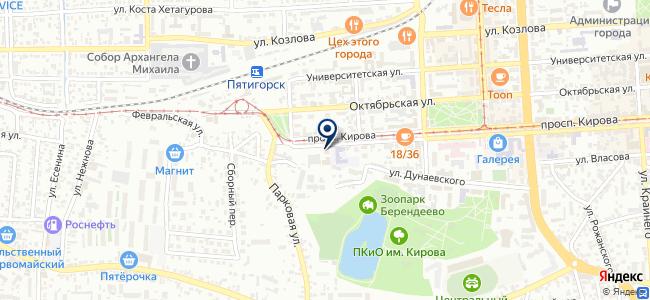 Городской Электрический Транспорт, МУП на карте