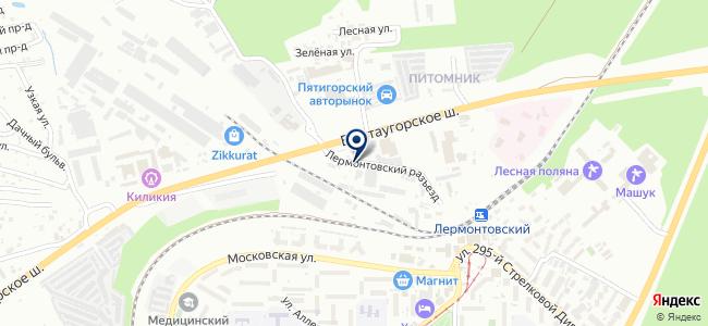 Мастерс, ООО на карте
