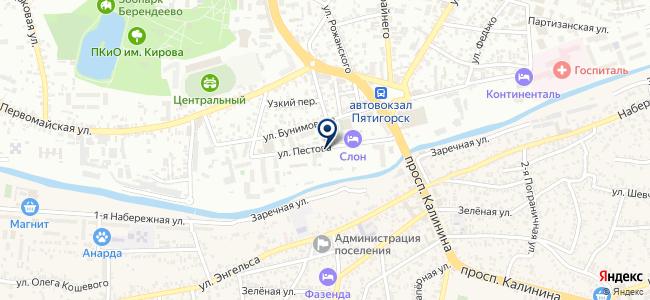 Кабель Контракт, ООО на карте