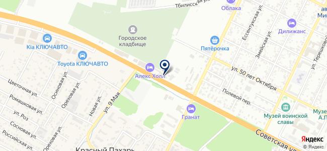 ЭлектростройКМВ, ООО на карте