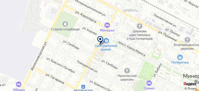 Шуруп-Шурупыч на карте
