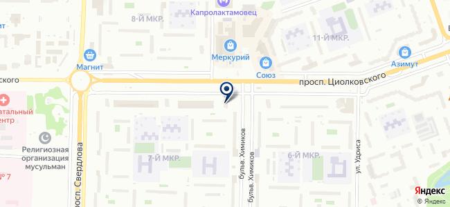 Электра-Д на карте