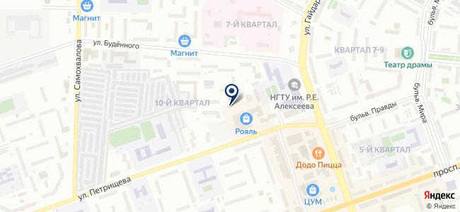 Центр поддержки предпринимательства, ООО на карте