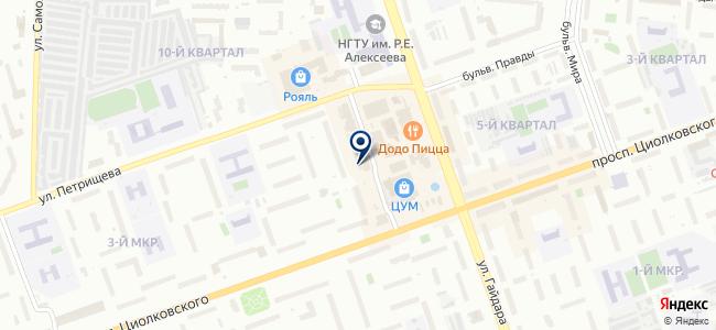 Мультидом на карте