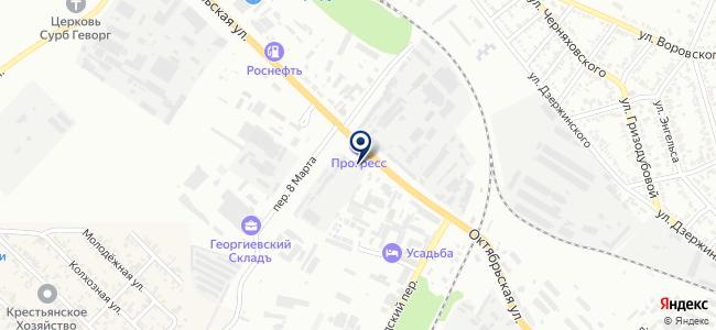 Георгиевский трансформаторный завод, ОАО на карте