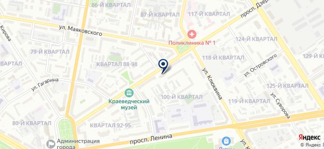 АВТОПРОФИЛЬ на карте