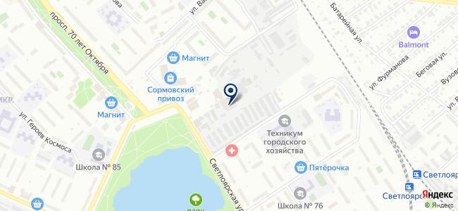 Минилен-С на карте