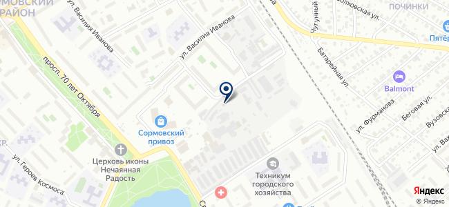Реалхимпласт-НН на карте