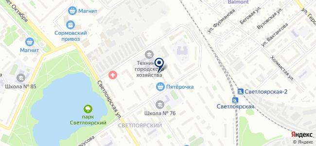Электрокабель-С на карте