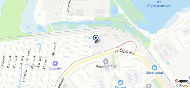 Автоника на карте